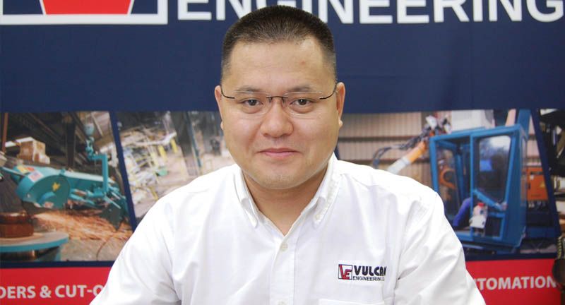 Vulcan Engineer Chief Representative of Sales in China and Asia Sales Director Mike Sun